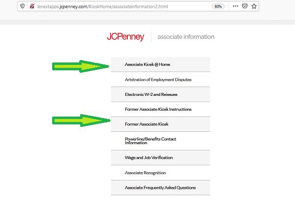 jcpenney associate kiosk jtime jcp kiosk login